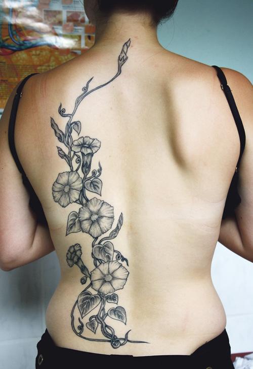 Viking Birds Back Tattoo Designs