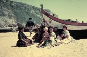 Anfang der 60er Jahre saß ich zwischen diesen portugiesischen Fischerfrauen ... eine sehr prägende Kindheitsphase