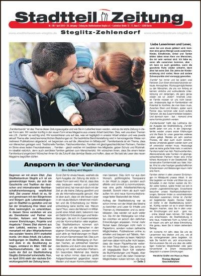 Stadtteilzeitung Steglitz-Zehlendorf