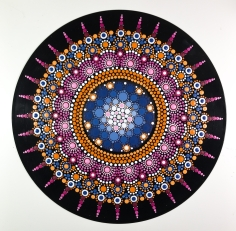 Schallplatte, Acryl - 30 cm