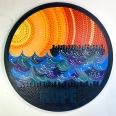 Leinwand, Acryl - 40 cm