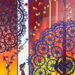 Leinwand, Acryl - 25 x 30 cm