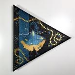 Leinwand, Acryl - 20 x 20 x 20 cm