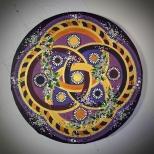 Leinwand, Acryl - 20 cm