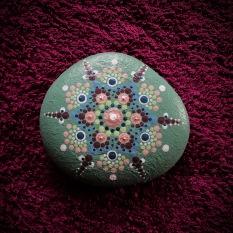 Stein etwa 7 cm