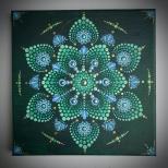 Leinwand, Acryl - 20 x 20 cm